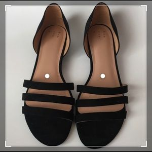 A New Day -3 Strap Suede Sandal